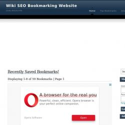 Search Wiki Bookmarking SEO Business Information Online – Ranking