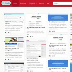 Ranking Unlimited Share SEO Bookmarking Article