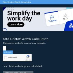 Links and Page Health Anlyzer free Tools | SiteDoctor